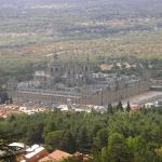 The view of the monestary from up the 'mountain' which the town is built upon.  This is where I