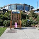 Ava in the Giant's Chair (Mount Dandenong)