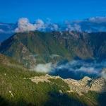 Machu Picchu at sunrise from the Sungate