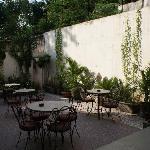 Courtyard at Yatri