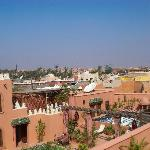 The view from the top of the Riad