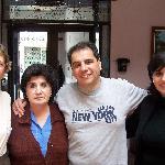 me, Alberto's mom, Alberto, and his sister