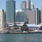 South Street Seaport viewed from the Shearwater