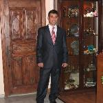 C.Yildirim in the lounge