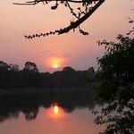 """coucher du soleil près d'""""Angkor Vat"""