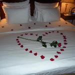 Romantic turndown service surprise
