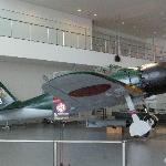 三菱重工業製零式艦上戦闘機(実物展示)