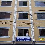 esterno del hotel
