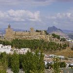 Vista de la Alcazaba de Antequera