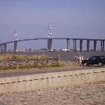 the bridge from st nazaire to les couchees