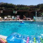 The pool at the Atlantik