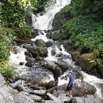 Torc Waterfall & Kilarney National Park nearby