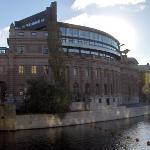 Parliament of Sweden, Riksdag, Stockholm.