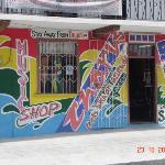 Dominica. Music Shop.