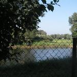 la vista sul Danubio dalla finestra della camera