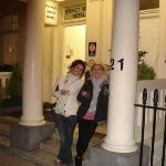 This is in front of our hotel in London, The Stanley House lol in this hotel is were most of our