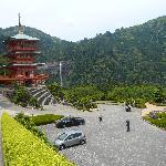 青岸渡寺からの眺め