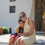 Elia (our favorite little guy in Milos)