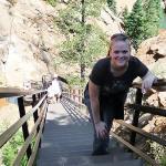 second part of 7 falls climb