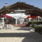 Le restaurant de plage