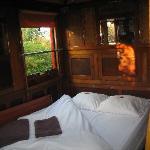 la seule chambre avec gd lit....