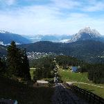 Seefeld from the Funicular