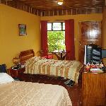 Comfortable, cozy room