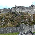 Vue des chambres de dreriere sur le chateau