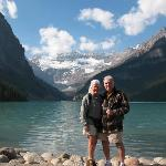 Visiting Lake Louise