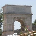 Rome - Via Sacra - Arch of Titus