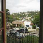 The view from the front door over the neighbourhood of Los Feliz