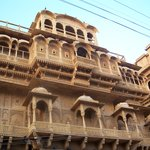 Nice view of Palace of Maharaja