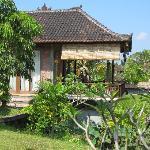 the twin bed villa at Sugars