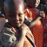 cute masai kid