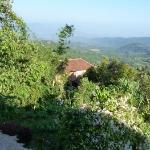 Notre vue depuis le cottate au Puri Lumbung