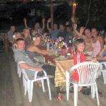 Our party, enjoying ourselves