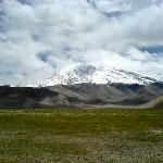 Muztagh Ata near Karakul Lake