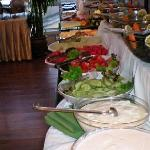 Breakfast Fruit, veggies, yogurt, cereal, etc.