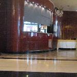 Entrada al bar del hotel