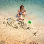 Small but full of character and service: beach at Beach Rotana