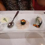 sushi de St Jacques