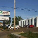 Oasis Inn, Dickinson, ND (looking west)