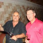 Dave Del Dotto and one of our tour