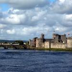 King's Castle on Shannon River Limerick Ireland