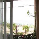 Patio Overlooking Beach