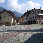The village square