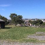 Veduta della città dal museo all'aperto di Skansen