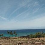 ラパカヒ歴史公園から見た海