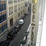 Front of hotel de Fleurie