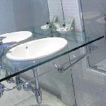 Detalle del lavabo de una habitación